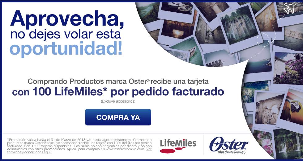 LifeMiles Marzo