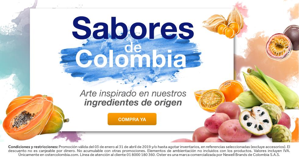 Los sabores de Colombia